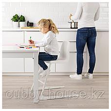ЛАНГУР Детский стул, белый, фото 2
