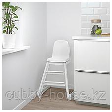ЛАНГУР Детский стул, белый, фото 3