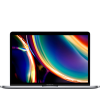13-inch MacBook Pro with Touch Bar: 2.0GHz quad-core 10th-generation Intel Core i5 processor, 512GB - Space Gr