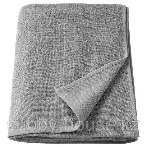 КОРНАН Банное полотенце, серый, 70x140 см, фото 2