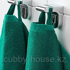 ВОГШЁН Полотенце, темно-зеленый, 50x100 см, фото 3