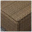 СОЛЛЕРОН Садовый табурет, коричневый, 62x62 см, фото 4
