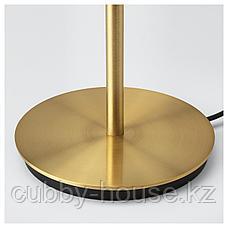 СКАФТЕТ Основание настольной лампы, желтая медь, 30 см, фото 3
