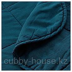 ГУЛЬВЕД Покрывало, темно-синий, 260x250 см, фото 3