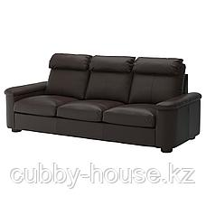 ЛИДГУЛЬТ 3-местный диван, Гранн/Бумстад золотисто-коричневый, фото 2