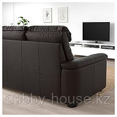 ЛИДГУЛЬТ 3-местный диван, Гранн/Бумстад золотисто-коричневый, фото 3