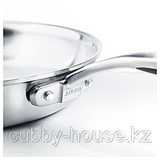 СЕНСУЭЛЛ Сковорода, нержавеющ сталь, серый, 28 см, фото 2
