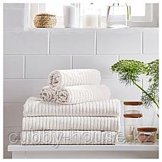 ВОГШЁН Простыня банная, белый, 100x150 см, фото 2