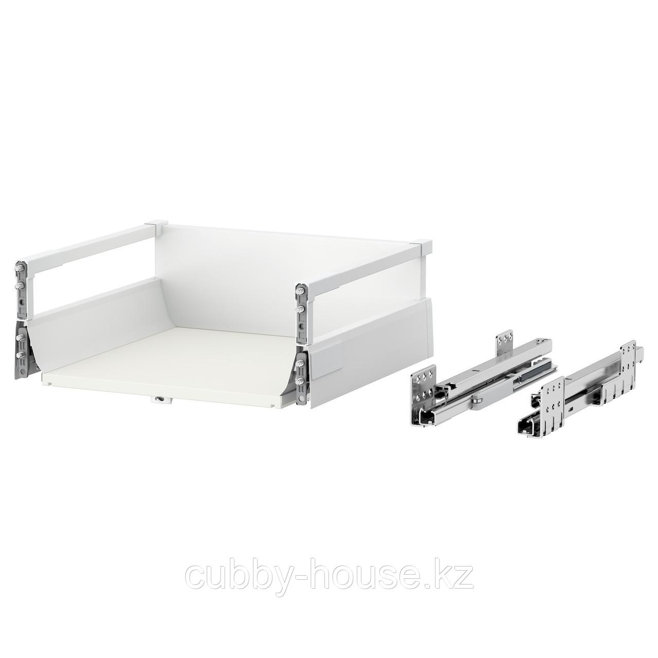 МАКСИМЕРА Ящик, средний, белый, 80x60 см