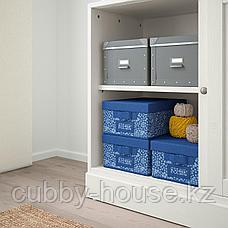 ХАВСТА Комбинация с раздвижными дверьми, белый, 242x47x212 см, фото 3