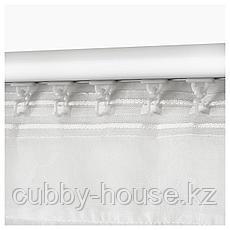 ЭНГЛАЛИ Гардины, 1 пара, белый, цветы, 145x270 см, фото 3