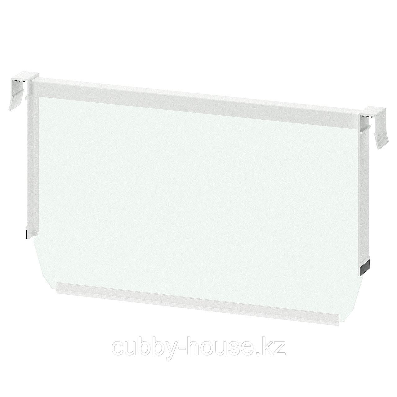МАКСИМЕРА Разделить д/высокого ящика, белый, прозрачный, 80 см