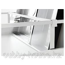 МАКСИМЕРА Разделить д/высокого ящика, белый, прозрачный, 80 см, фото 3
