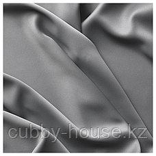 МАЙГУЛЛ Гардины, блокирующие свет, 1 пара, серый, 145x300 см, фото 3
