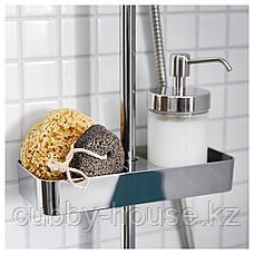БРОГРУНД Полка для ванной, хромированный, 25x4 см, фото 3