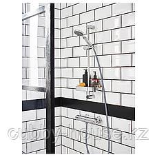 БРОГРУНД Полка для ванной, хромированный, 25x4 см, фото 2