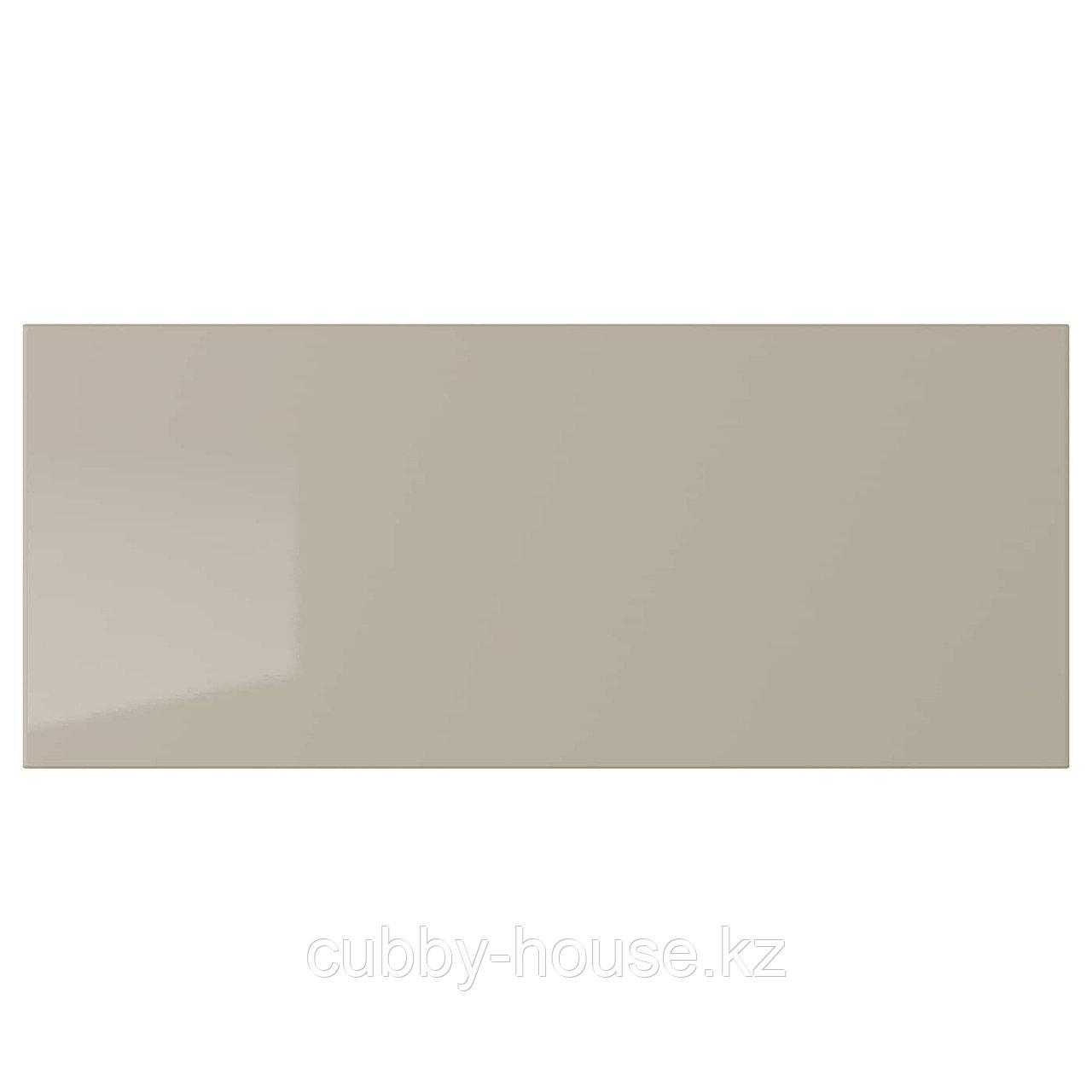 СЕЛЬСВИКЕН Фронтальная панель ящика, глянцевый белый, 60x26 см