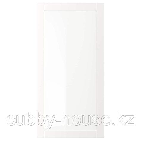 ВЭРД Стеклянная дверь, белый, 60x40 см, фото 2