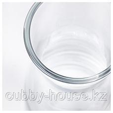 ТИДВАТТЕН Ваза, прозрачное стекло, 14 см, фото 3