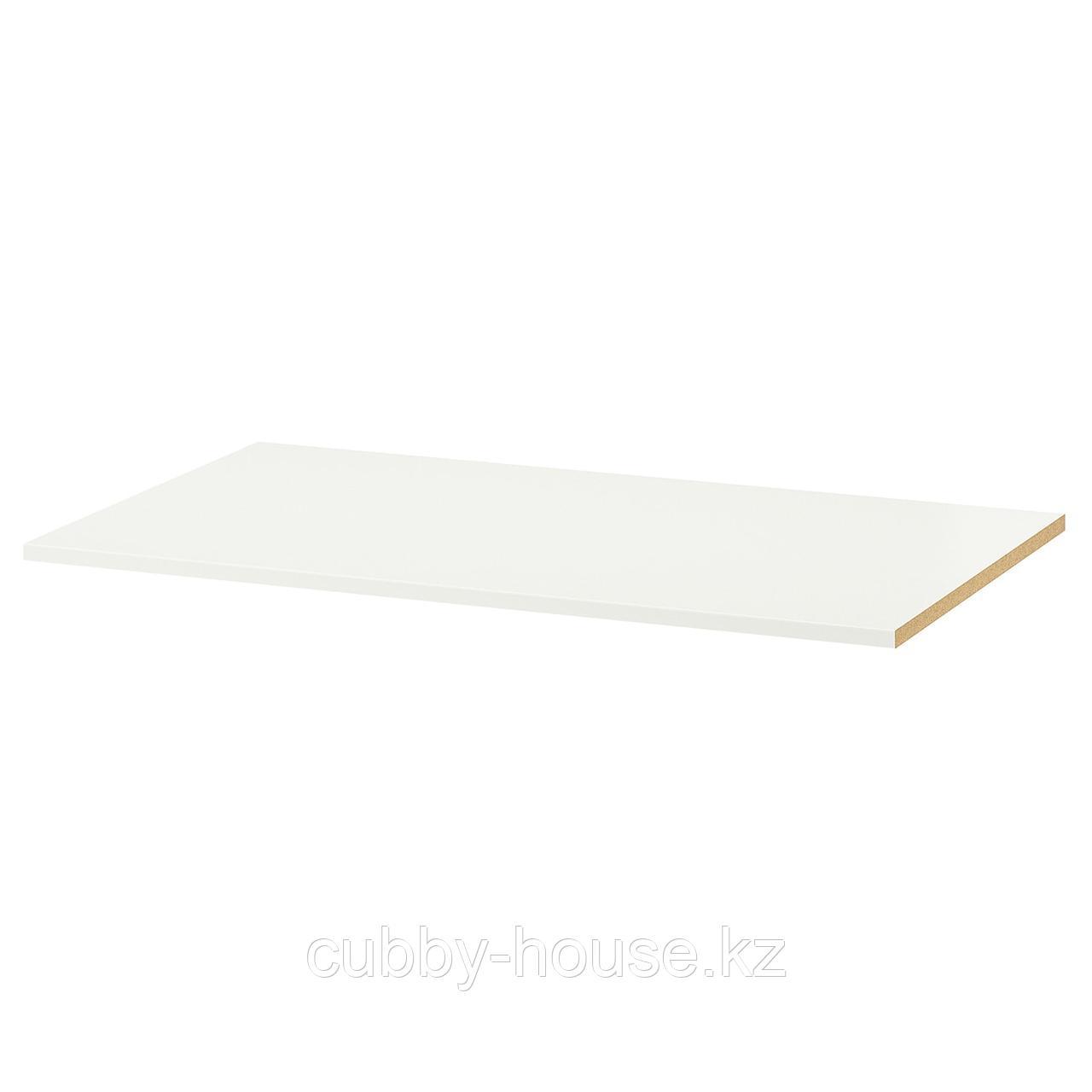 КОМПЛИМЕНТ Полка, белый, 100x35 см