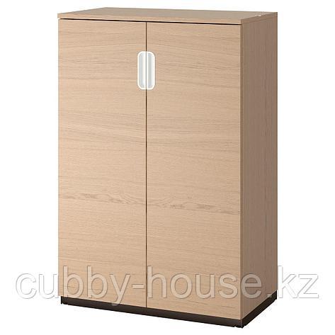 ГАЛАНТ Шкаф с дверями, белый, 80x120 см, фото 2
