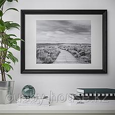 ЭДСБРУК Рама, черная морилка, 50x70 см, фото 3