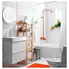 СТОРЙОРМ Зеркало с подсветкой, белый, 47 см, фото 3