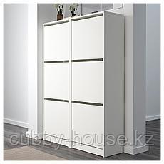 БИССА Галошница,3 отделения, белый, 49x135 см, фото 3