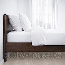СОНГЕСАНД Каркас кровати, белый, Лонсет, 90x200 см, фото 2