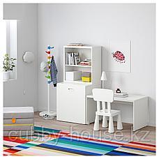 СТУВА / ФРИТИДС Стол с отделением для игрушек, белый, белый, 150x50x128 см, фото 3