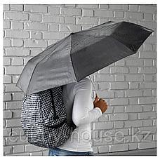 КНЭЛЛА Зонт, складной черный/белый, фото 3