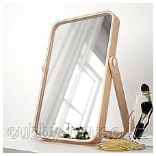 ИКОРННЕС Зеркало настольное, ясень, 27x40 см, фото 2