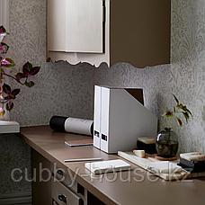 ТЬЕНА Подставка для журналов, белый, фото 3