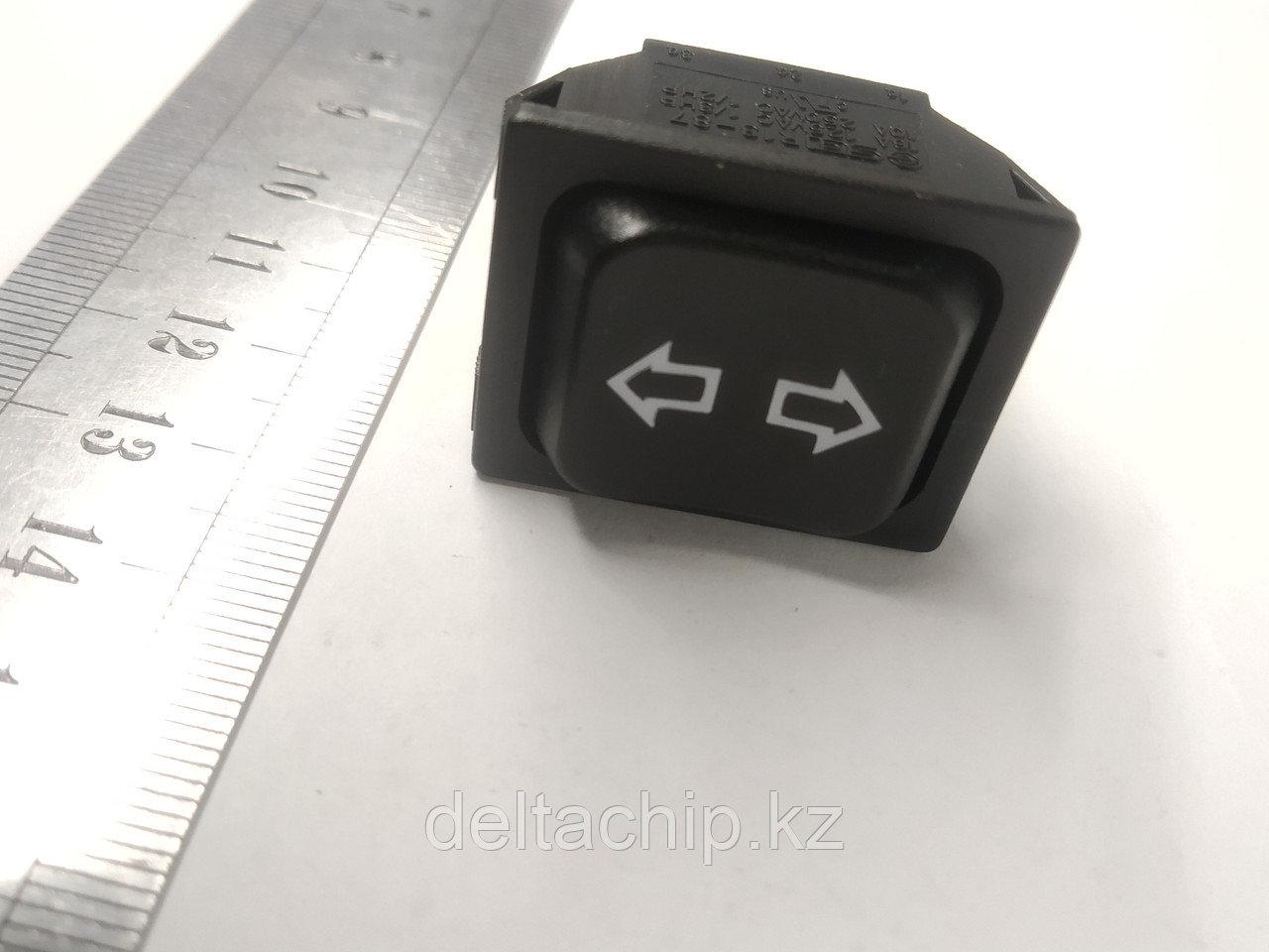 Клавиша 3 положения без фиксации 6 контактов