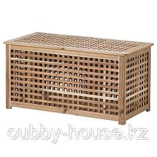 ХОЛ Стол-сундук, акация, 98x50 см, фото 2