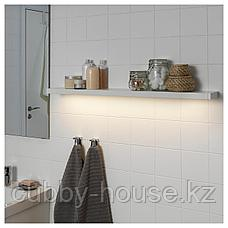 ГОДМОРГОН Светодиодная подсветка шкафа/стены, белый, 100 см, фото 2