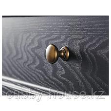 МАЛЬШЁ Сервант, черная морилка, 145x92 см, фото 3