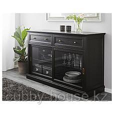 МАЛЬШЁ Сервант, черная морилка, 145x92 см, фото 2