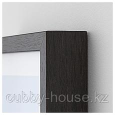 ХОВСТА Рама, темно-коричневый, 13x18 см, фото 2