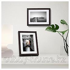ХОВСТА Рама, темно-коричневый, 13x18 см, фото 3