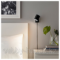 НИМОНЕ Бра/лампа для чтения, антрацит, фото 3
