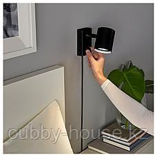 НИМОНЕ Бра/лампа для чтения, антрацит, фото 2