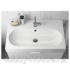 БРОВИКЕН Одинарная раковина, белый, 80x48x10 см, фото 2