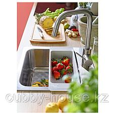 ЭЛМАРЕН Кухон смеситель с выдвижным носиком, цвет нержавеющей стали, фото 3