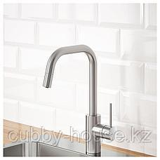ЭЛМАРЕН Кухон смеситель с выдвижным носиком, цвет нержавеющей стали, фото 2
