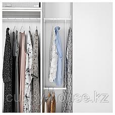 ЛЭТТХЕТ Платяная штанга для каркаса, белый, 35-60x55 см, фото 3