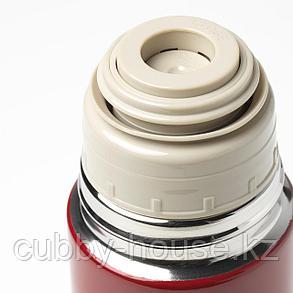 ХЭЛЬСА Стальной термос, красный, 0.5 л, фото 2