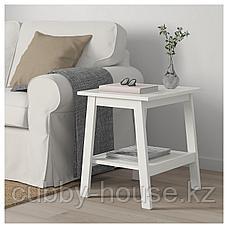 ЛУНАРП Придиванный столик, белый, 55x45 см, фото 3
