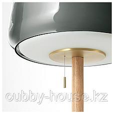 ЭВЕДАЛЬ Светильник напольный, серый мрамор, серый, фото 3