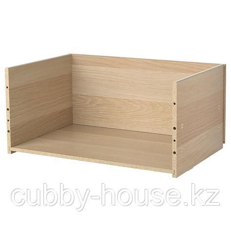 БЕСТО Каркас ящика, белый, 60x25x40 см, фото 2